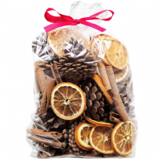 Cone, Orange and Cinnamon Bag